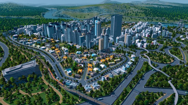 I wish my city creation was this pretty.