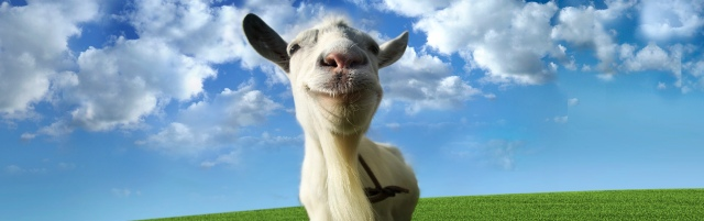 Goat Simulator is the latest in goat simulation technology.