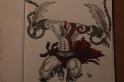 Kratos - Pencil, Ink, and Sharpie